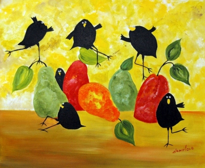 Crows and Pears